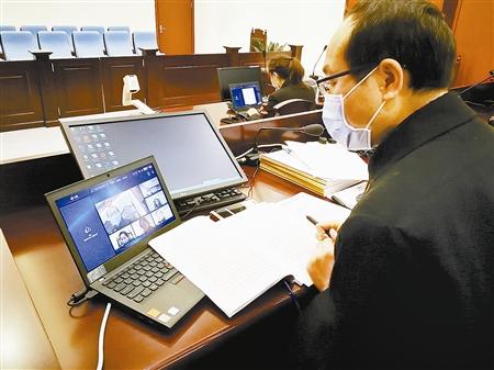安徽法院開啟網上訴訟服務 減少人員聚集
