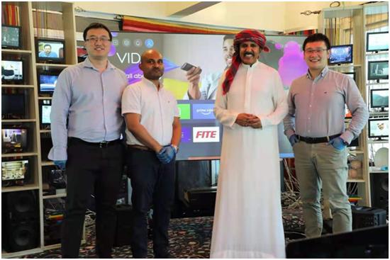 海信激光电视受到迪拜高端客户的认可
