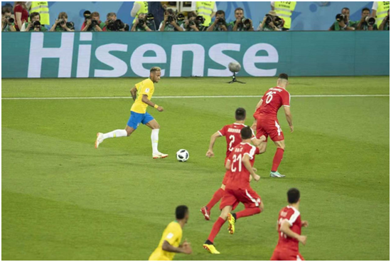 2018年海信成功赞助俄罗斯世界杯
