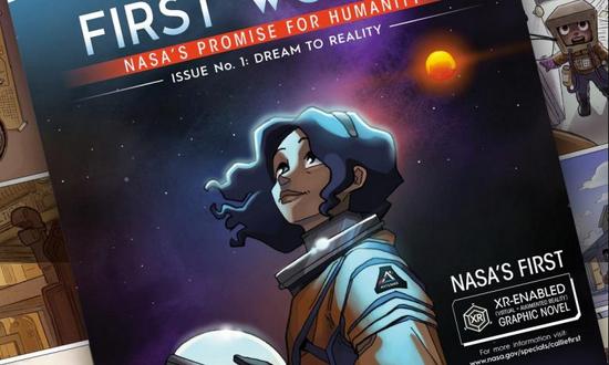 NASA推出首部交互式数字漫画《First Woman》