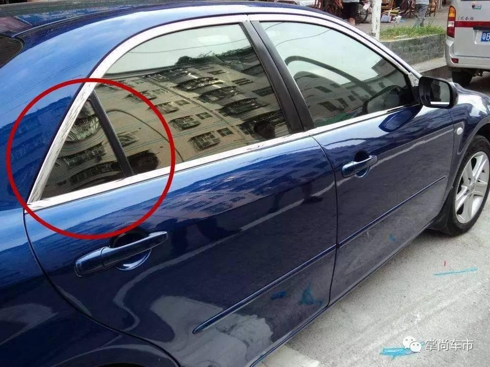 车窗垃�_为啥后车门上车窗要划成两部分 真有实际作用?
