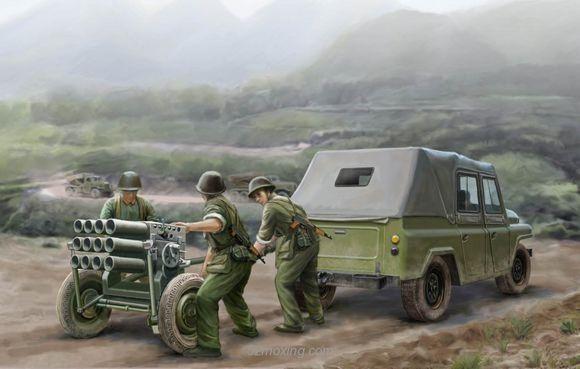 中国107火箭炮竟然不需要炮管:一枚大头针就能发射