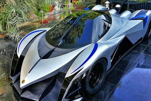 迪拜造了台超跑,5000马力,能秒布加迪 新浪汽车