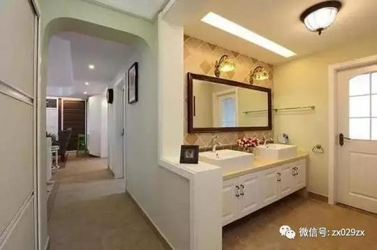 砖砌洗手池,看起来也很美2.8