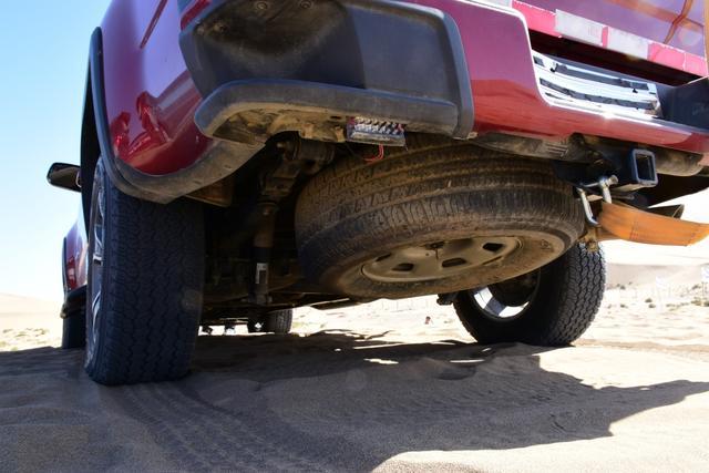 福特F-150最强对手来华,看6.2L V8+8AT如何在沙漠中潇洒!