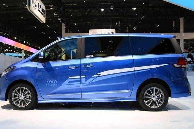 车身长度5.1米 轴距3.1米 自主电动MPV的标杆