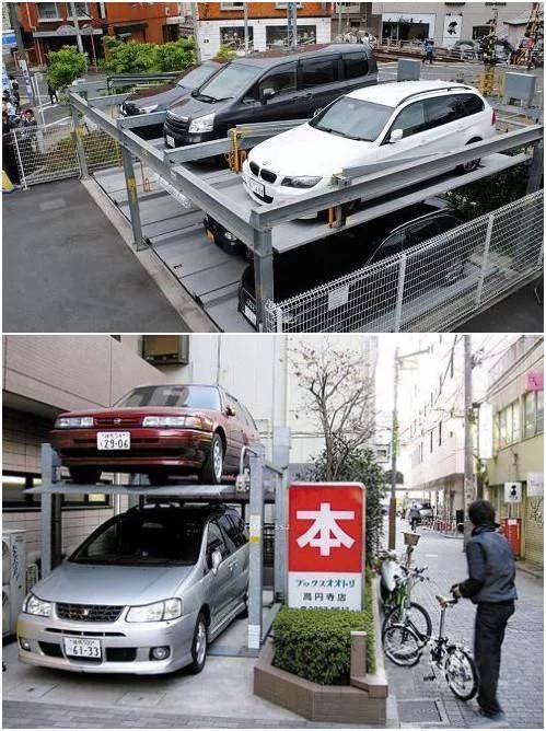 实拍日本停车位设计逆天,和国内相比相差太大!