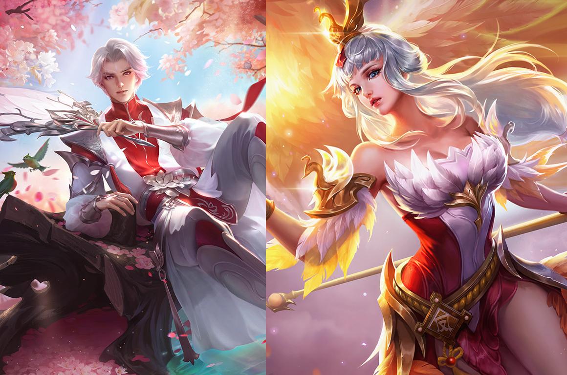 王者榮耀:諸葛亮武陵仙君并非單人情侶皮膚,這5個英雄圖片