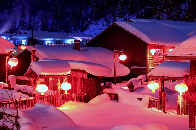 东北雪乡_东北雪乡和云南丽江, 这个冬季, 你认为哪里旅游更