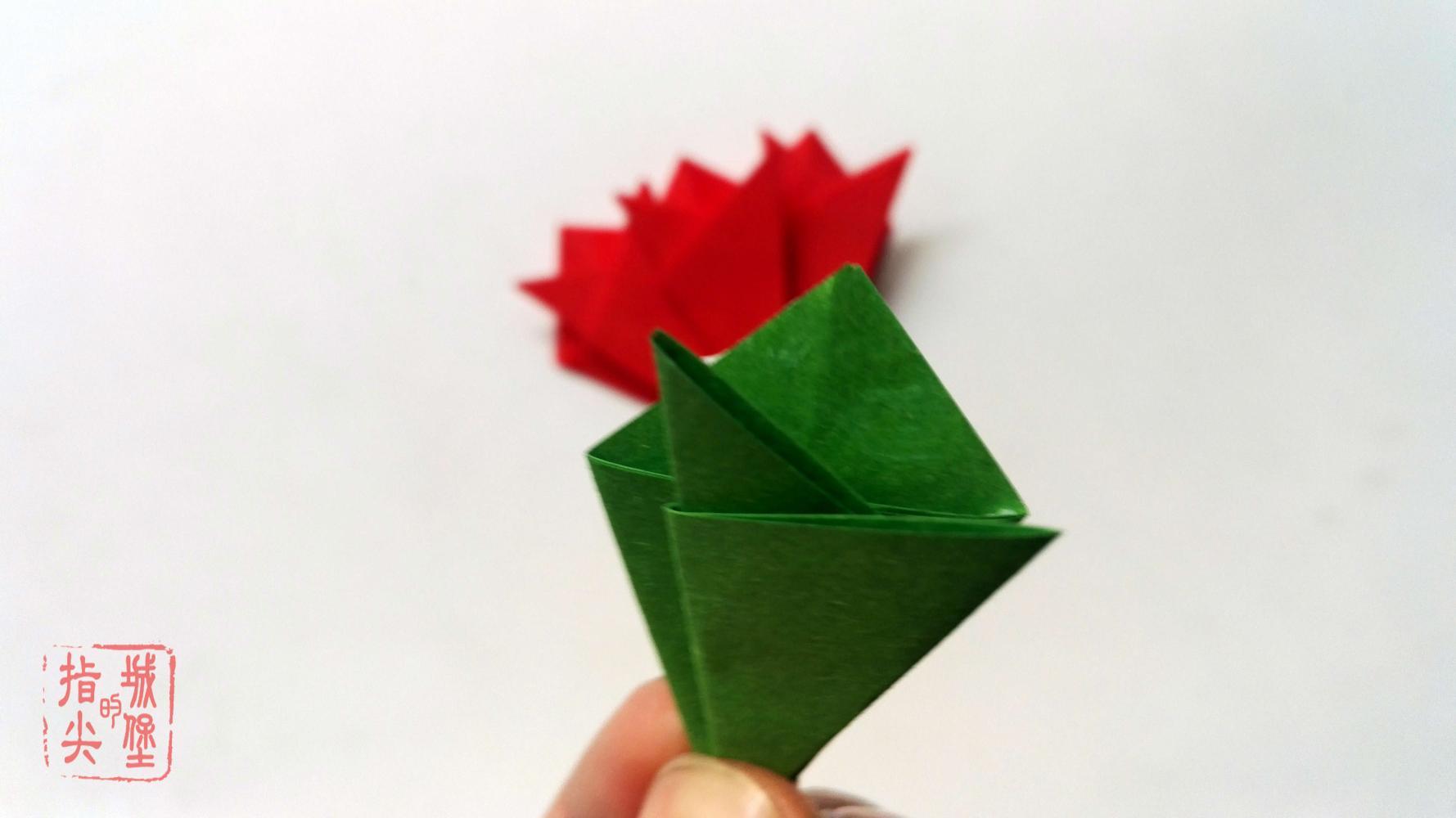 幼儿园简单的手工花朵折纸, 折纸?#30340;?#39336;步骤图解