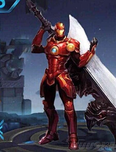 王者榮耀: 玩家腦洞四款皮膚! 身背屠龍刀的鋼鐵俠是圖片