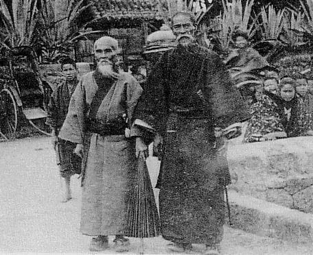 琉球人_清末琉球老照片:那时的琉球人穿汉服,书汉字,为中国属地!