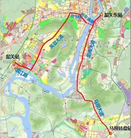 韶關智軌將規劃七條線路,兩條示范線明年十月開通,票價初定2-4元圖片
