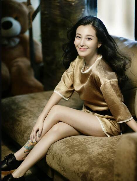重庆美女明星_来自重庆的6大美女明星,最后一位被称作为\