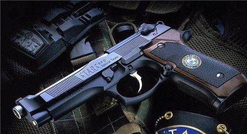 竹联帮武器_绝地求生:手枪界的ak47,来自意大利黑帮的夺命武器