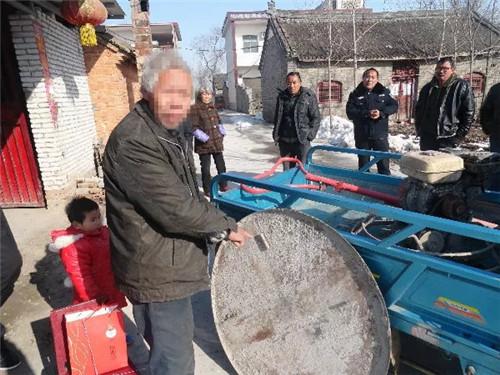 邓州元庄派出所成功侦破一起盗窃农村筑路机械设备案