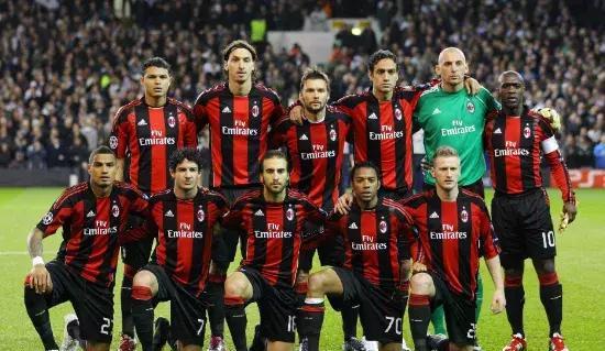 ac米蘭21世紀以來18個賽季主力陣容一覽,紅黑軍團能否圖片
