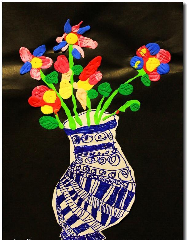 15幅幼儿创意美术作品欣赏,快收藏