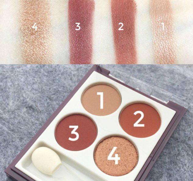 眼影的画法步骤�_步骤,来看这四个颜色具体是怎么构成,又是怎么画出一个完整的眼影的.