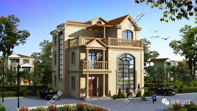 奢华的欧式建筑,外观大气典雅,有着其它风格建筑所无法诠释出的一种美感,因此很对人对其钟爱有加。 萃取其风格元素,用心缔造建筑外观的同时,也不忘将其室内布局设计的更为贴合于我们国人的生活起居习惯,带堂屋、多卧室,充分利用宅地面积是这套户型的最大亮点。
