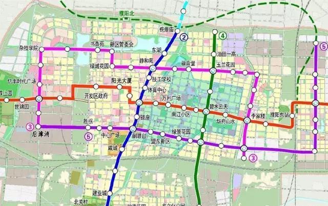 濮阳地图市区地图