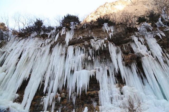 木扎嶺風景區冰掛