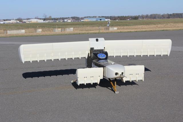 雷击中央电视�9f�x�_机翼上全是风扇:雷击无人机速度比直升机快两倍