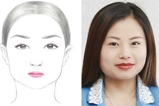 自拍测脸型_女生脸型分6种,快看看该怎么选择眉形?