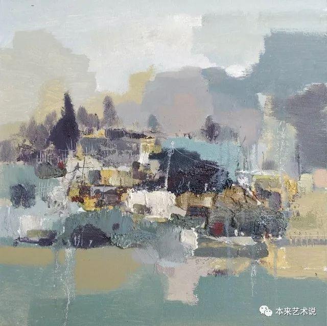 写意油画_写意风景油画   本来艺术家·郭立忠