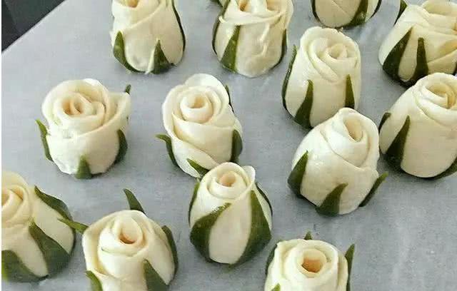玫瑰馒头_玫瑰花馒头教程,吃了那么多年的馒头也可以如此高颜值