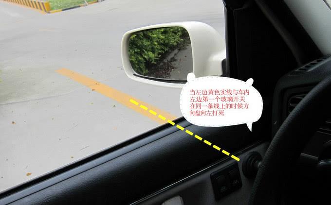 學車科目二直角轉彎操作技巧圖片