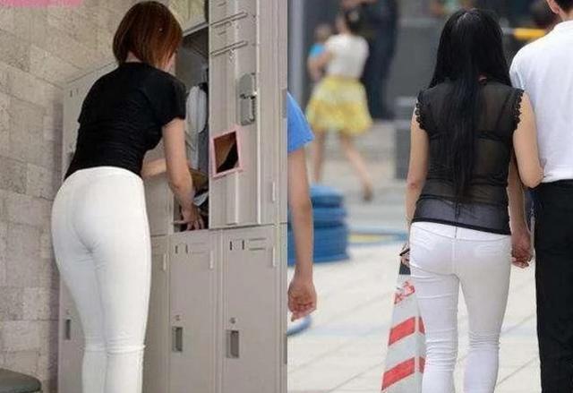 白色紧身裤视频_白色紧身裤别乱穿,穿的好让你身材更美穿不好让你毫无