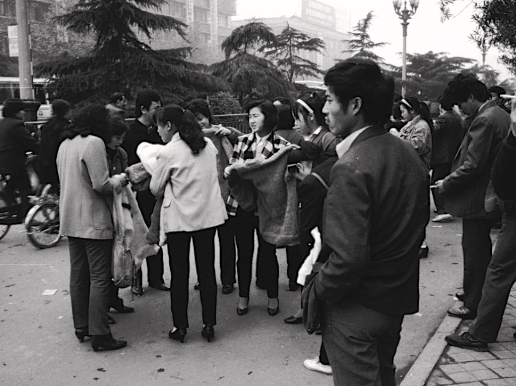 老照片 | 成都,1990年.米歇爾·彼得圖片