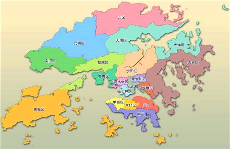 与澳门特别行政区,珠海市以及中山市隔着珠江口相望,香港是一座高度
