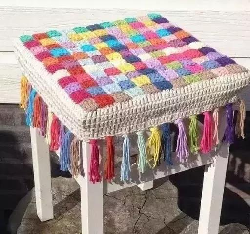 「編織教程」 手把手教你鉤花坐墊,不怕你學不會!(詳細教程)圖片