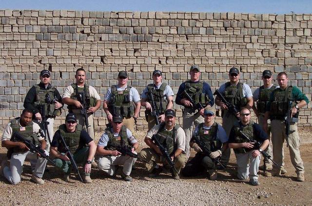 国际雇佣兵组织_图为国际安保组织雇佣兵