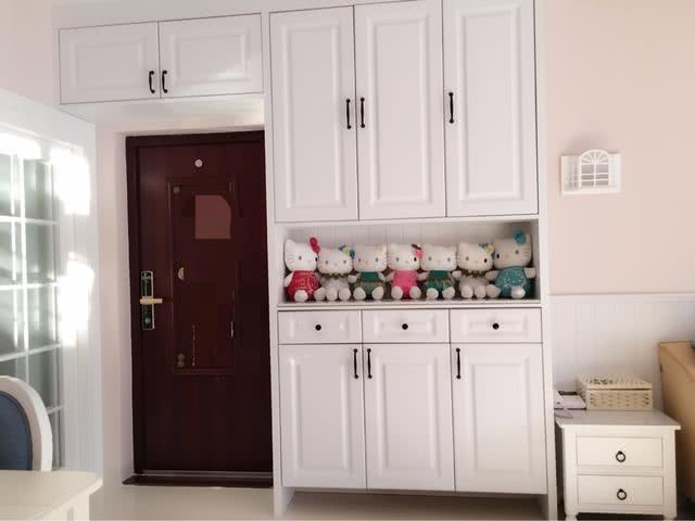 媳婦花4個月裝修的新房,滿屋的柜子被贊居家,真有面子圖片