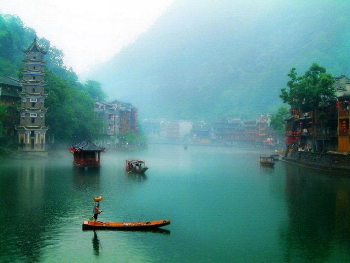 湘西邊城,鳳凰,沈從文靈魂的棲息地圖片