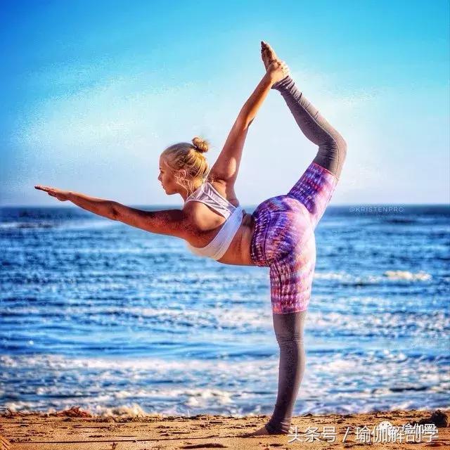 不看不知道,微胖的女生練起瑜伽居然可以辣么美!圖片