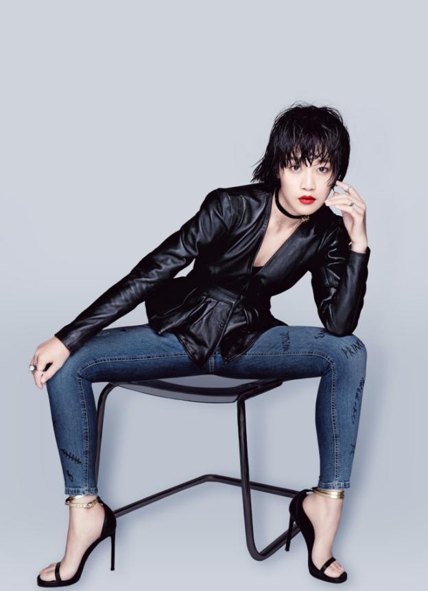 厲害了藍盈瑩,波點裙撞衫景甜竟一點沒輸,網友:曹駿真圖片