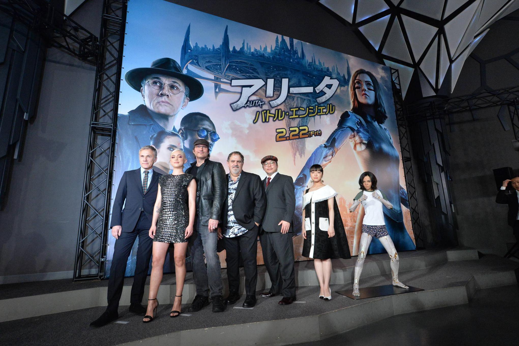 《阿丽塔:战斗天使》日本首映礼盛大举办 主创空降东京现场嗨爆