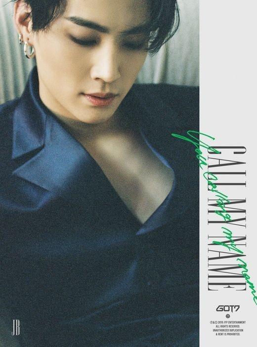 GOT7公开新专辑《Call My Name》个人预告图片视觉组合的存在感