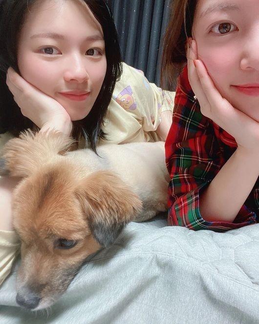 孔升妍公开与妹妹TWICE俞定延的亲密合照
