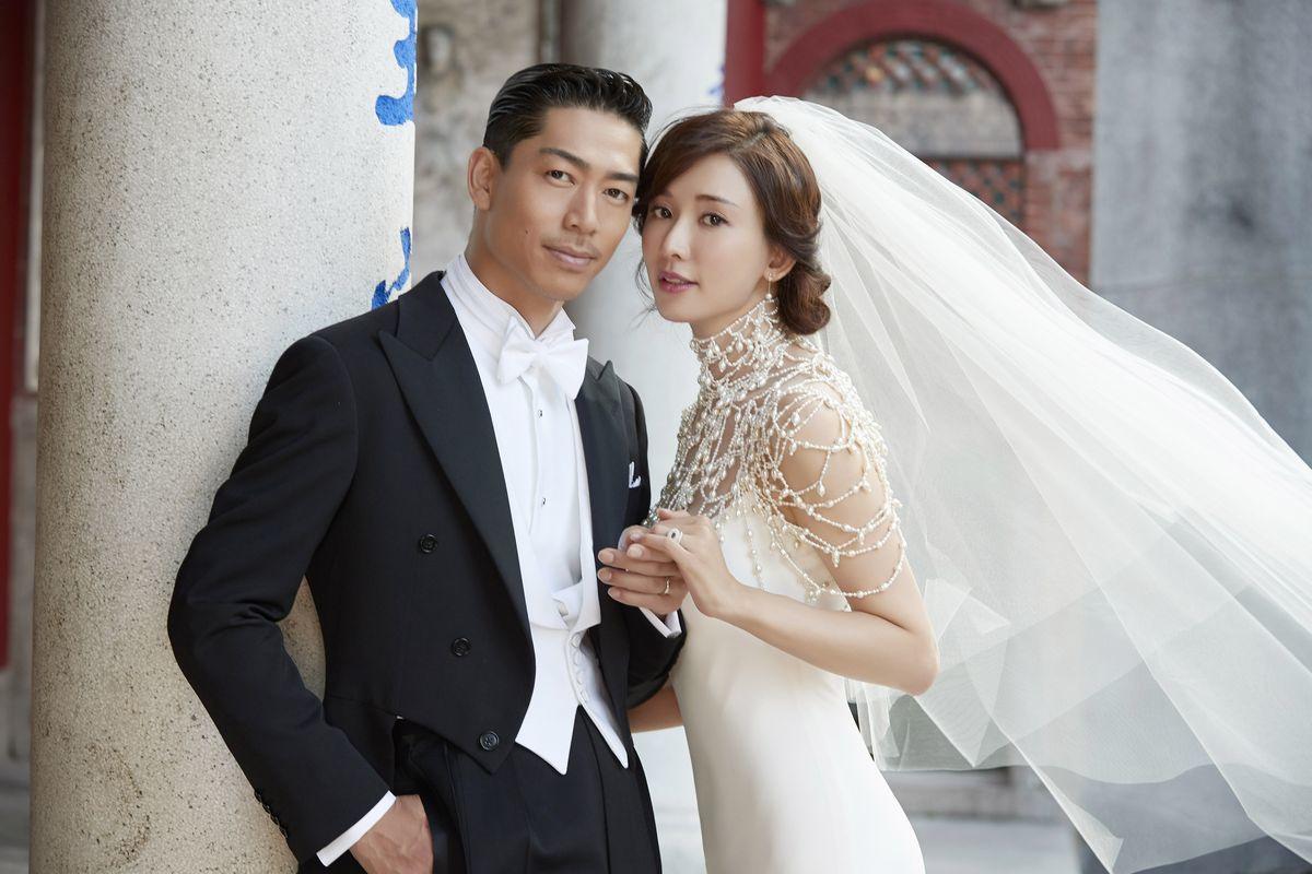 EXILE AKIRA&林志玲在台湾举行婚礼