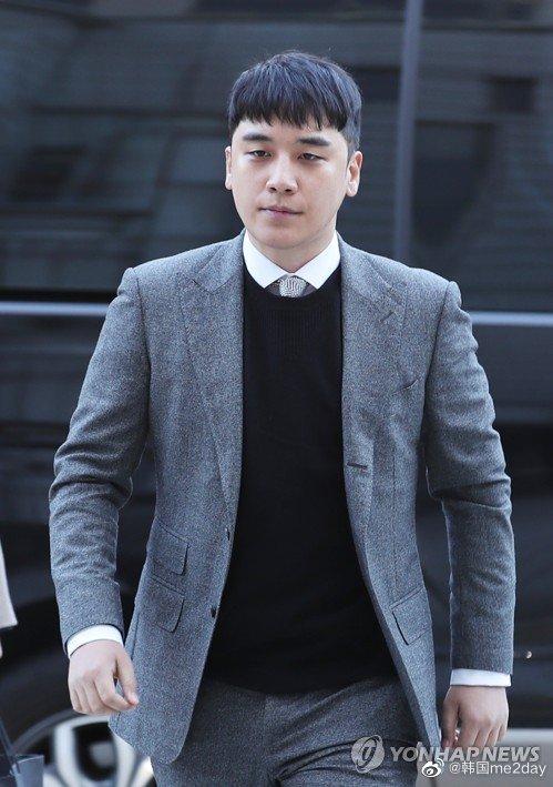 韩国兵务厅对BIGBANG的前成员胜利发送入伍通知