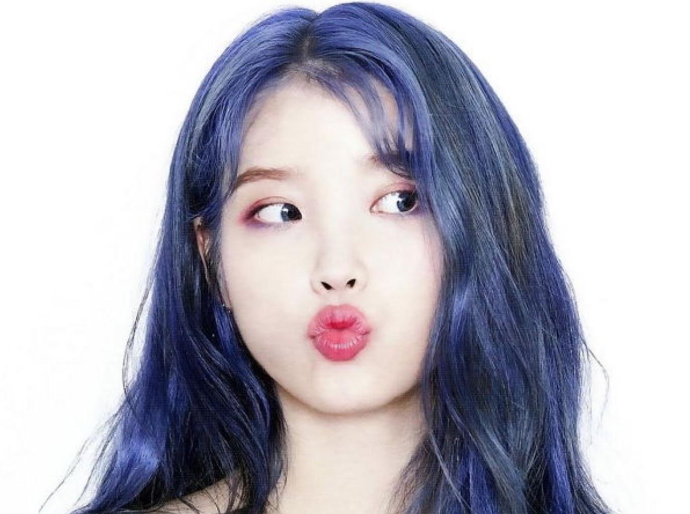 IU头发怎么看都看不够IU神奇的新发色