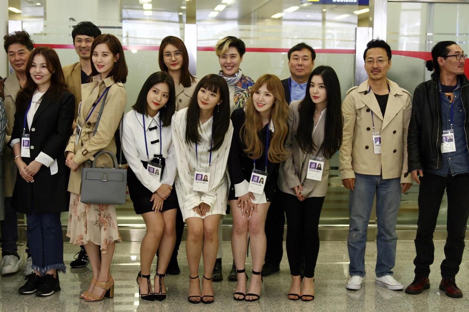 Red Velvet的姜涩琪透露她在朝鲜犯了一个错误后很担心