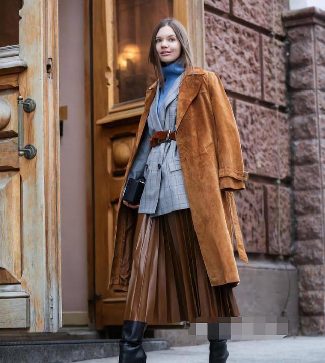 秋冬穿衣想要遮肉又显高?学达人5种心机穿搭,做精致的潮流女孩