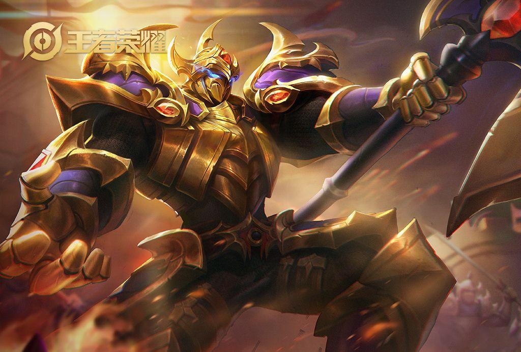 王者榮耀:單排就能上星耀的4個英雄,典韋排第二!
