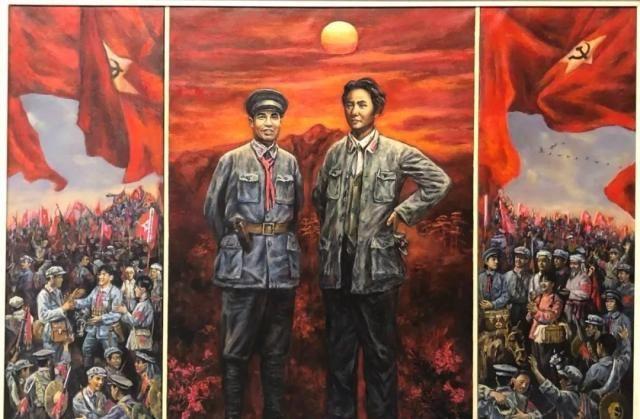 鹰潭赣州遵义红色主题美术作品联展11月7日在鹰潭美术馆展出